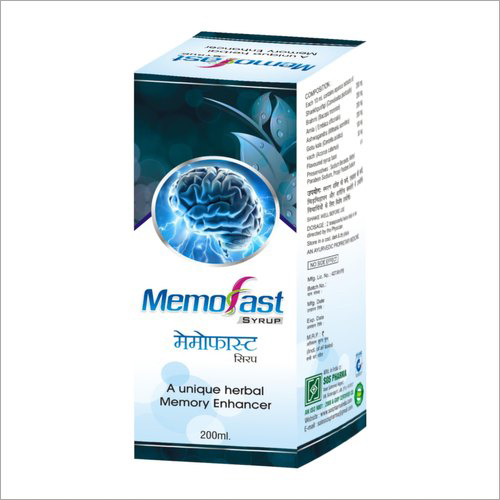 200 ml Memofast Syrup