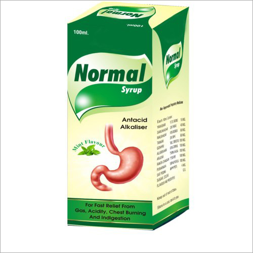 Ayurvedic Acidity Relief Normal Syrup