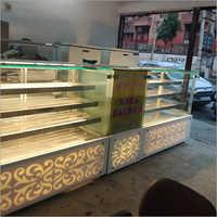 Glass Display Counter
