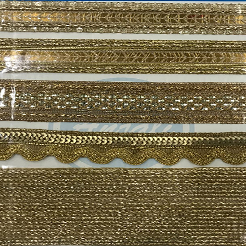 Golden Zari Lace