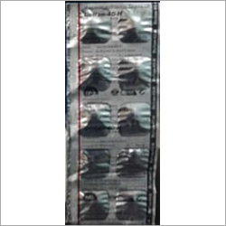 Silver Aluminium Blister Packaging