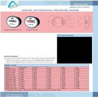 Aerosense Digital Differential Pressure Gauge Series CDPG