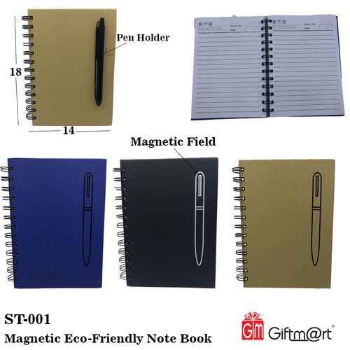 Magnetic Eco Friendly Note Book