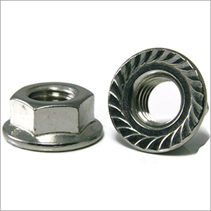 Flange Nuts Serrated