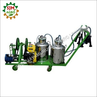 Double Bucket Electric Milking Machine