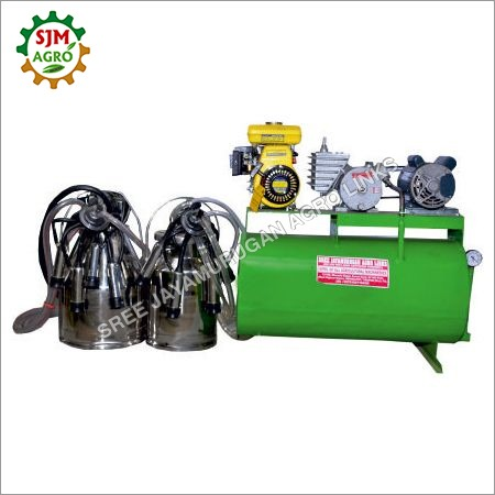 Double Bucket Plaster Milking Machine