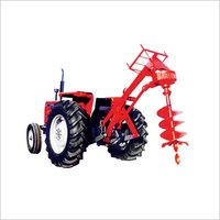 Post Hole Digger For Tractor