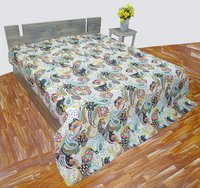 Paisly Design Kantha Bedcover