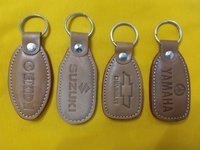 Leather Printed Keychain