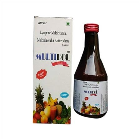 Lycopene Multivitamin Multimineral And Antioxidants Syrup
