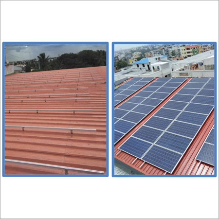 Sheet roof, Long Rail system