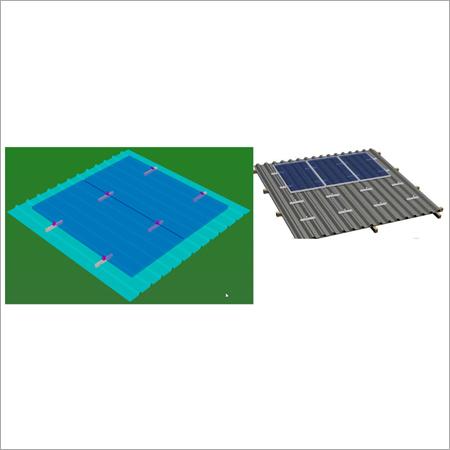 Sheet roof, Short Rail system