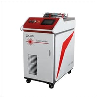 Handheld laser welding machine for quick build facility