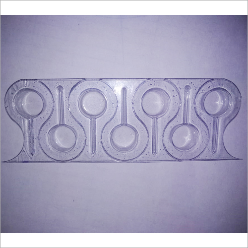 Transparent PVC Blister Packaging Tray