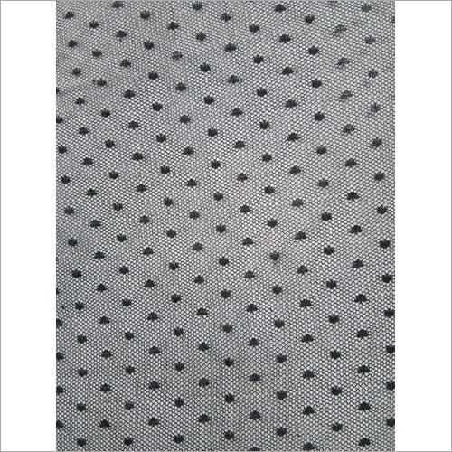 Plain Polyester Dot Net Fabric