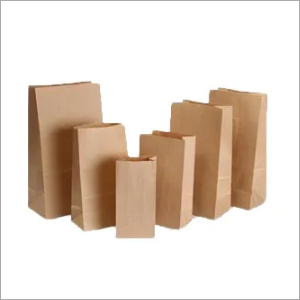 Square Bottom Brown Paper Bags
