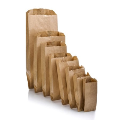 Disposable V-Shaped Brown Paper Bags