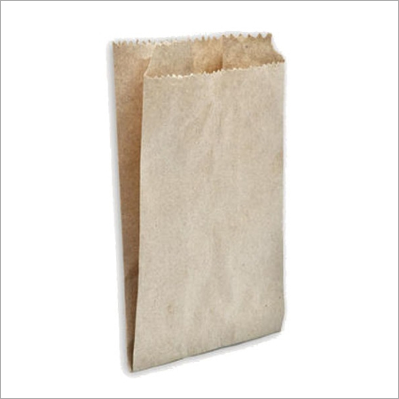Eco Friendly V-Shaped Brown Paper Bag
