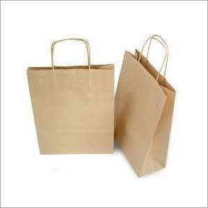 Kraft Shopping Bags With Twisted Rope