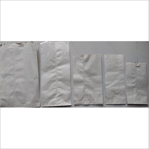 V Shaped Brown / White Paper Bags