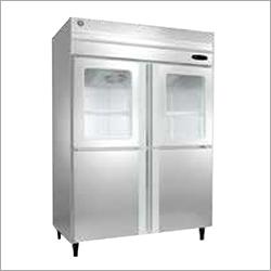 SS Half Glass Refrigerator
