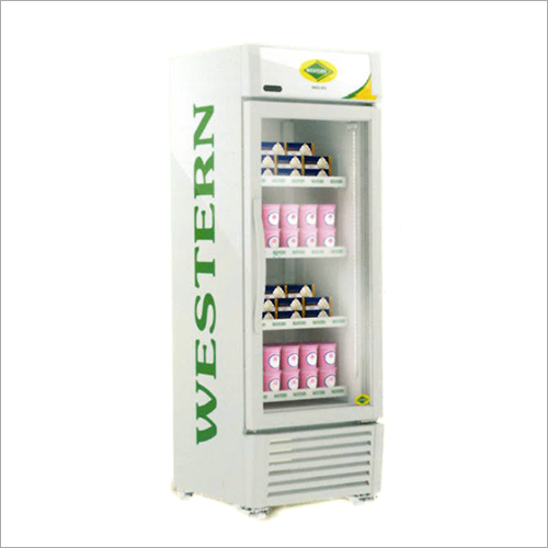 Glass Door Vertical Freezer