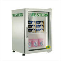 Stainless Steel Vertical Freezer