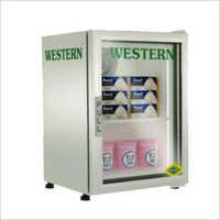 Stainless Steel Vertical Freezer