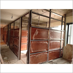 Aluminum Shop Partition