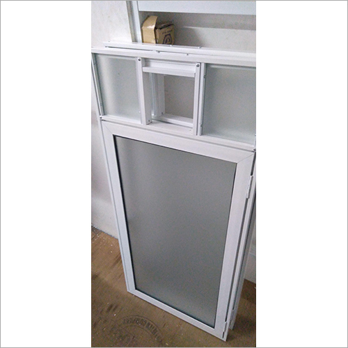 White Aluminum Casement Window