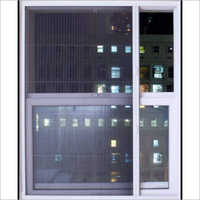 White Powder Coated Aluminium Sliding Window