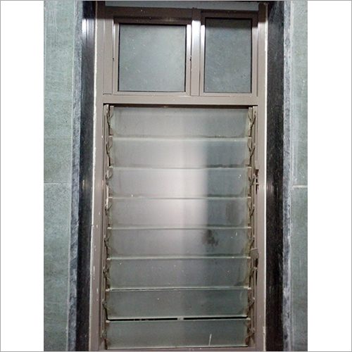 Powder Coated Aluminum LOUVER Windows