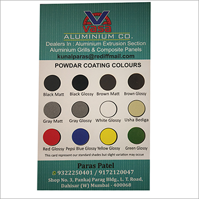 Multi Color Aluminum Powder Coating