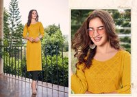 Mirror Work Ladies Kurti
