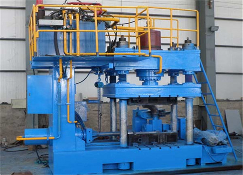 SS Automatic Hydraulic Elbow Pipe Fitting Cold Forming Making Machine