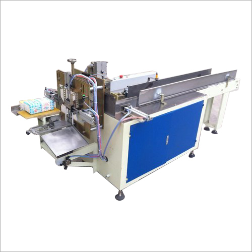 Semi Automatic Napkin Packing Making Machine