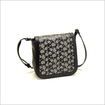 PU Printed Sling Bag