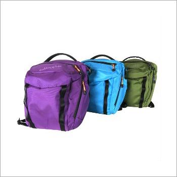 Nylon Zipper Sling Bag