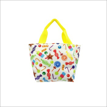 Mini Bag with Candies Print