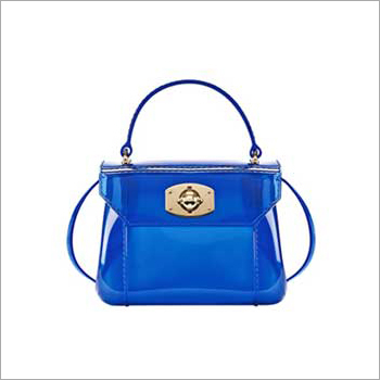 Ladies PVC Fancy Handbag