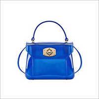 Ladies PVC Fancy Handbag