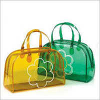 Ladies Plastic Handbag