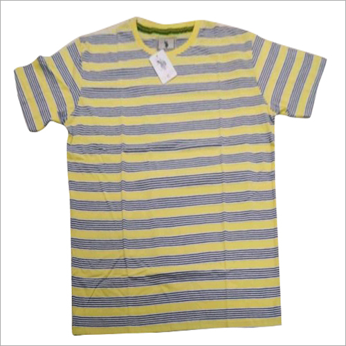 Kids Round Neck Cotton T Shirt