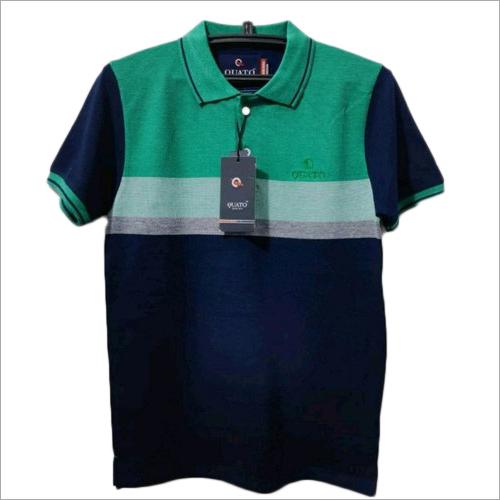 Boys Polo Neck T Shirt