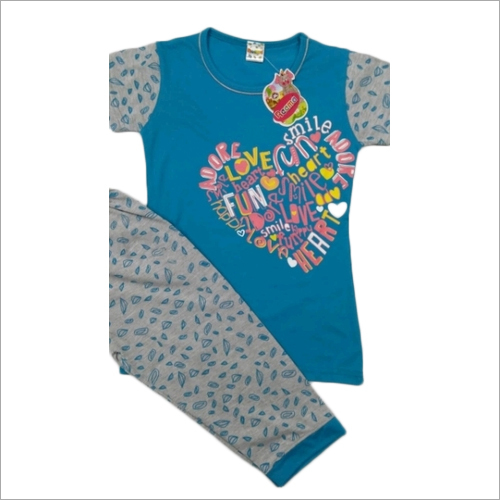 Kids Full Pant With T Shirt Set