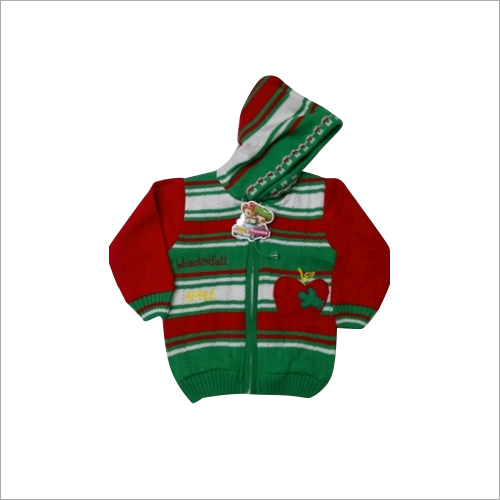 Kids Full Sleeve Woolen Sweater