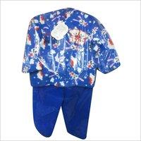 Kids Printed Full Sleeves Cotton Suit