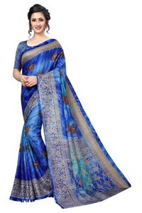 Printed  Prism Silk  Saree