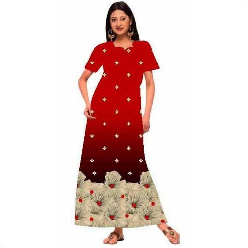 Designer Cotton Ladies Maxi