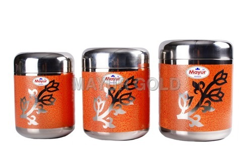 Stainless Steel Food Storage Canister Set